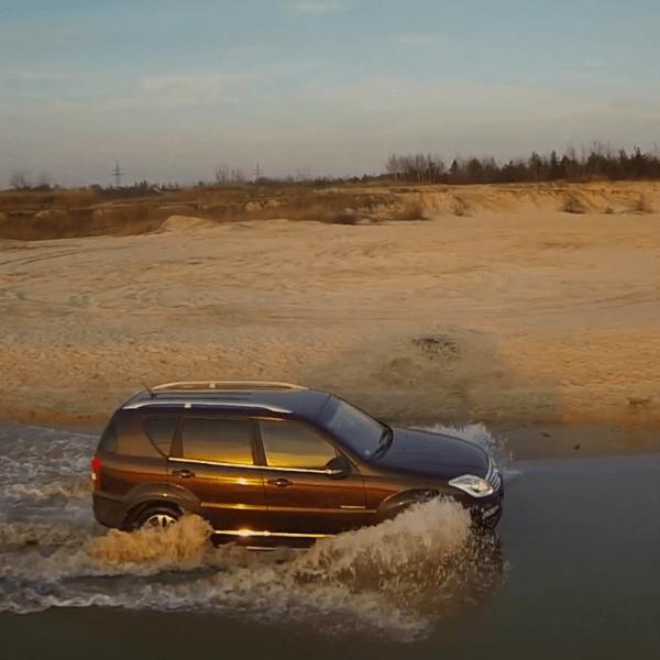 Test samochodu SsangYong Rexton