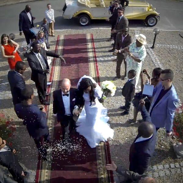 Ślub Norberta i Geraldine