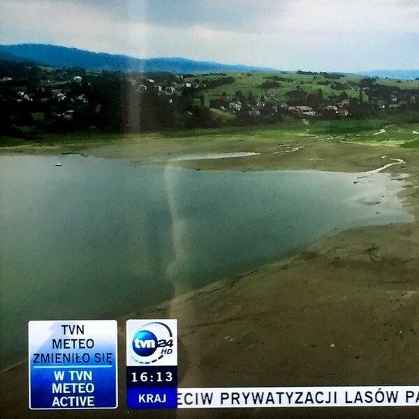 Susza, Jezioro Żywieckie – TVN24