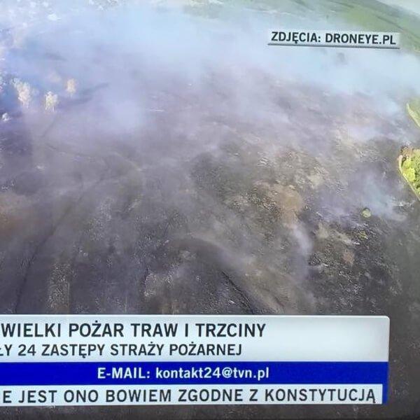 Pożary w Częstochowie – TVN24